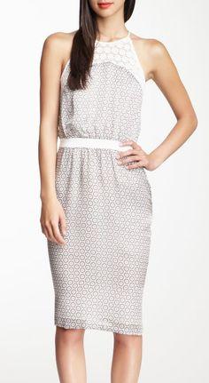 Raoul Caroline Silk Day Dress