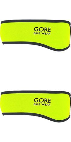 Hats Caps and Headbands 158994: Gore Bike Wear Universal So Headband, Neon Yellow Black, One Size -> BUY IT NOW ONLY: $35.72 on eBay!