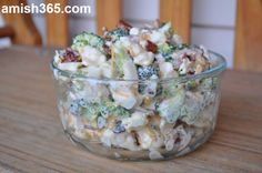 Amish broccoli salad is a perfect melding of flavors!