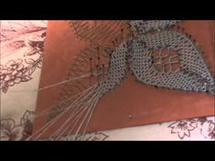 Hi guys, I finally did this tutorial video for you of a bobbin lace bookmark which uses half stitch, spiders and rose ground I hope you enjoy it. Bobbin Lacemaking, Bobbin Lace Patterns, Needle Lace, Lace Making, Hobbies And Crafts, Crochet Necklace, Stitch, How To Make, Diy