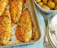 Spiced crumbed mackerel | ASDA Recipes
