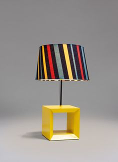 Great colors! Yellow Buxum - Table Lamp