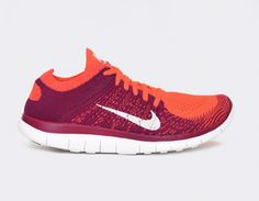 #Nike Free Flyknit 4.0 WMNS Purple Red #sneakers