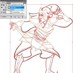 Learn to combine Brushes, vector tools, and Pathfinder to create crisp and clean line-art from a sketch. The finished product can be exported into Photoshop or a similar program for digital...