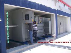 SUBESTACION CLASE 34.5 NEMA 1