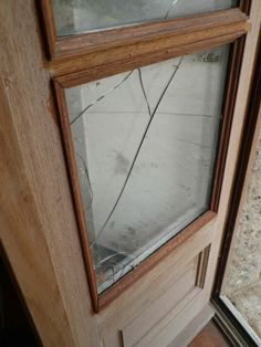 Charmant How To Replace A Broken Glass Pane