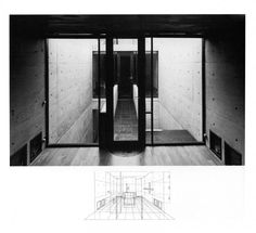 TADAO ANDO, AZUMA HOUSE OSAKA 1975: concrete.
