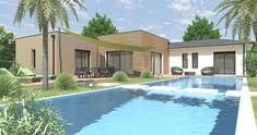 Maison Alba - IGC | Faire construire sa maison Construction, Concept Home, Mansions, House Styles, Outdoor Decor, Plans, Home Decor, France, Architecture