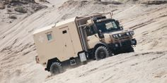 Unimog 4x4 Camper ARMADILLO Specialty Vehicles Ltd. Expedition Trailer, Expedition Vehicle, Universal Motor, Mercedes Benz Unimog, Adventure Campers, Bug Out Vehicle, Top Tents, Heavy Truck, Camping Car