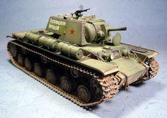KV-8 1/35 Scale Model