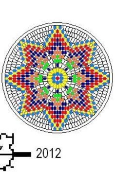 how to make native american seed bead medallions Native American Seed, Native American Patterns, Native American Crafts, Native American Beadwork, Loom Patterns, Beading Patterns, Crochet Patterns, Indian Beadwork, Native Beadwork