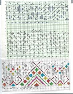 низь, низинка Darning, Bargello, Smocking, Embroidery Patterns, Needlework, Bullet Journal, Ornaments, Straight Stitch, Dots
