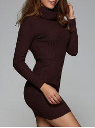 SHARE & Get it FREE | Stretchy Turtle Neck Ribbed Skinny DressFor Fashion Lovers only:80,000+ Items • New Arrivals Daily • Affordable Casual to Chic for Every Occasion Join Sammydress: Get YOUR $50 NOW!