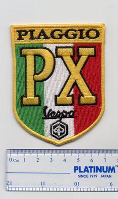 Vintage Style Vespa PX Patch MOD Badge by smARTpatches on Etsy
