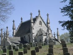 Crown Hill Cemetery. Some people think it's strange that I have this on my tour of Indianapolis