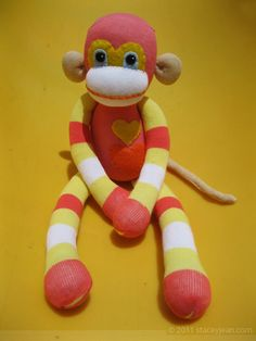 I <3 sock monkeys.
