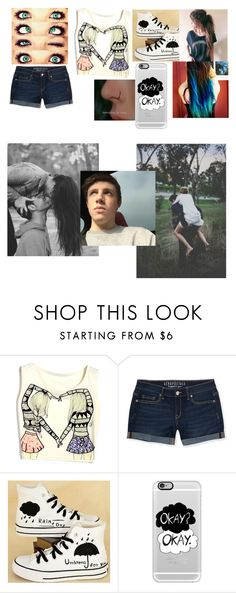"""""""Brinley's usual day out with Harry Lewis"""" by universe-hates-me ❤ liked on Polyvore featuring Aéropostale, HVBAO and Casetify"""