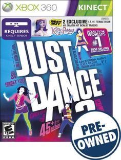 Just Dance 3 — PRE-Owned - Xbox 360, PRE-OWNED GAME