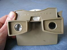Before video games.....we had view masters.