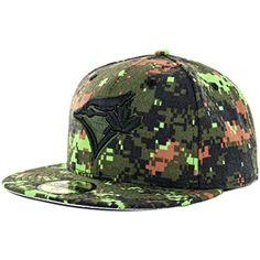 Toronto Blue Jays Camouflage Caps