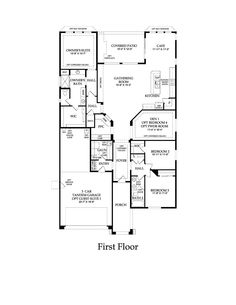 Pulte Home Gardengate Model 2286 Sq Den And Storage Area Can Also Make Two More Bedrooms