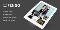 Deals Fengo - Responsive eCommerce PSD Templatelowest price for you. In addition you can compare price with another store and read helpful reviews. Buy