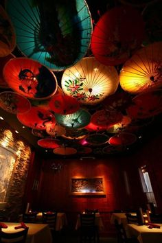 Amazing Thailand, a wonderful Thai restaurant in Mpls. I loved both the food and the decor!