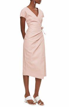 3e89311d7637 Main Image - Topshop Wrap Midi Dress Suits For Women