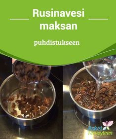 Rusinavesi maksan puhdistukseen Oletko #koskaan kuullut #rusinaveden #hyödyistä? #Luontaishoidot Nutrition, Fitness Magazine, Smoothie Drinks, Natural Medicine, Detox, Oatmeal, Clean Eating, Paleo, Food And Drink