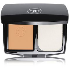CHANEL Ultrawear Flawless Compact Foundation SPF15 - Colour Beige 21 (€51) ❤ liked on Polyvore featuring beauty products, makeup, face makeup, foundation, spf foundation, chanel, long wear foundation, chanel face makeup and long wearing foundation