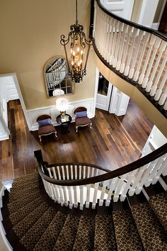 Foyer. Traditional Foyer and Staircase Ideas. #Foyer #Staircase #TraditionalInteriors Designed by Jane Lockhart. ..rh ♠ re-pinned by http://www.wfpcc.com