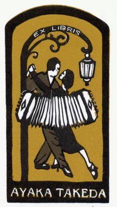 ex libris, tango