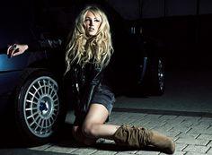 Car n Girl. Lancia Delta Integrale
