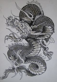 japanese dragon 2 by clarknorth
