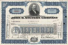John B. Stetson Company preffered Stock 1957