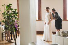 Real Weddings: Leslie in Carol Hannah's Pemberley