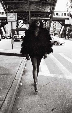 "vogue-is-viral: "" Naomi Campbell by Mario Sorrenti for V Magazine August 2008 "" Vogue Korea, Vogue Spain, Vogue Russia, Mario Sorrenti, Ellen Von Unwerth, V Magazine, Model Magazine, Magazine Covers, Doutzen Kroes"