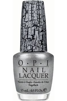 I have this crackle polish in gold & purple & it's cool. Plan a few tests before calling it done. The secret is to use sparingly starting in the middle & working your way outward.