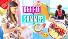 Get Fit for Summer! How To Get Healthy & Feel Amazing! Smoothie Bowl, Smoothies, Cambria Joy, Get Healthy, Healthy Recipes, Blogilates, Lose 10 Pounds In A Week, Strawberry Blueberry, Apple Cider