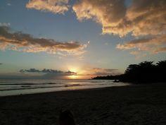 Winter Sunset on Tamarin Bay