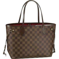 Louis Vuitton N51109 Handbag Neverfull PM Brown