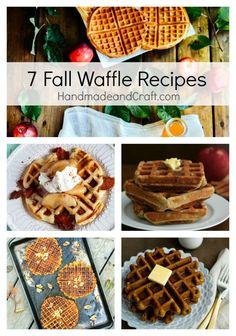 7 Fall Waffle Recipe