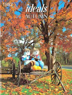 1982 Autumn Ideals New Yorker Covers, Fall Back, Yearly Calendar, Fall Pictures, Vintage Stuff, Autumnal, Magazine Covers, Iridescent, Stained Glass