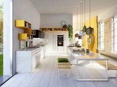 Cucina componibile CODE by Snaidero | design SNAIDERO DESIGN