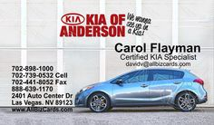 2014 KIA Forte Business Card ID# 20860