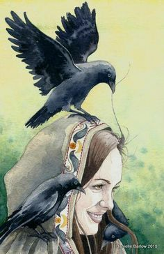 An integration into nature so profound / that the wild birds take strands of one's hair for their nests / bring one food in the desert/ sit as close as thought and memory