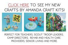 Crafts by Amanda craft kits, by Amanda Formaro