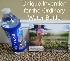 A MUST have for those Long Runs. A unique water bottle accessory for runners.