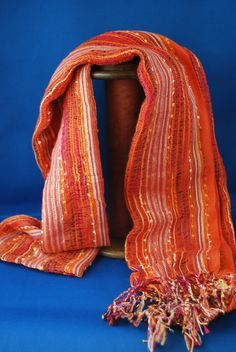 Outshine the fall leaves in this Guatemalan scarf