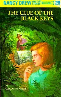 Terry Scott, a young archaeology professor, seeks Nancy's help in unearthing a secret of antiquity which can only be unlocked by three black keys. While on an archaeological expedition in Mexico, Terry and Dr. Joshua Pitt came across a clue to bur. Nancy Drew Series, Nancy Drew Books, Nancy Drew Mystery Stories, Mystery Books, Good Books, My Books, Book Reviews For Kids, The Black Keys, Book Writer